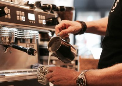 Cappuccino maken