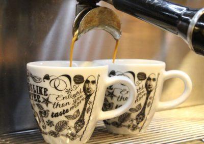Koffie loopt door